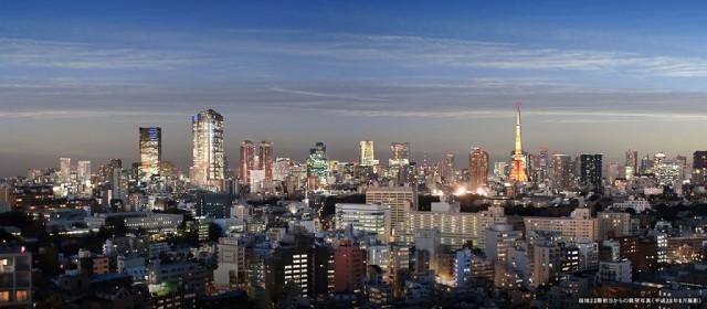 シティタワー恵比寿からの眺望