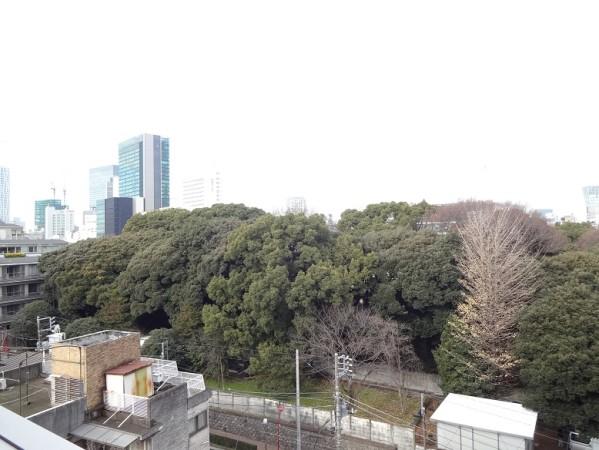 ブランズ渋谷常盤松606号室の景色