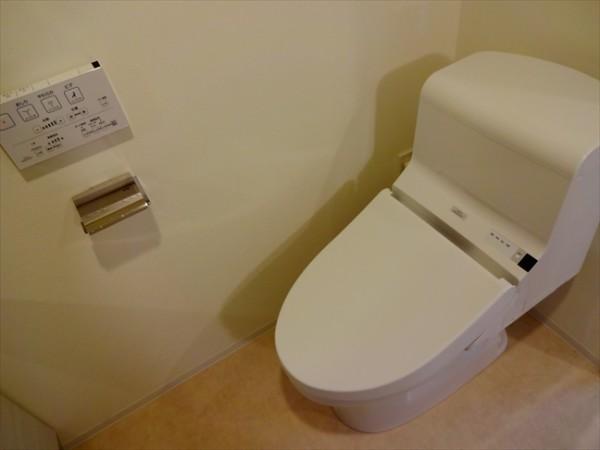 カーサスプレンディッド恵比寿のトイレ