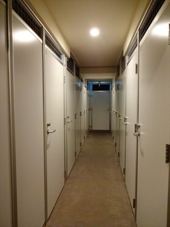 カーサスプレンディッド恵比寿のトランクルーム