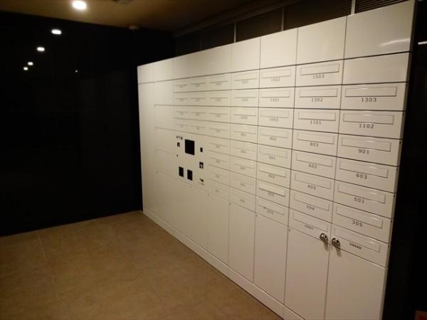 カーサスプレンディッド恵比寿の宅配ボックス